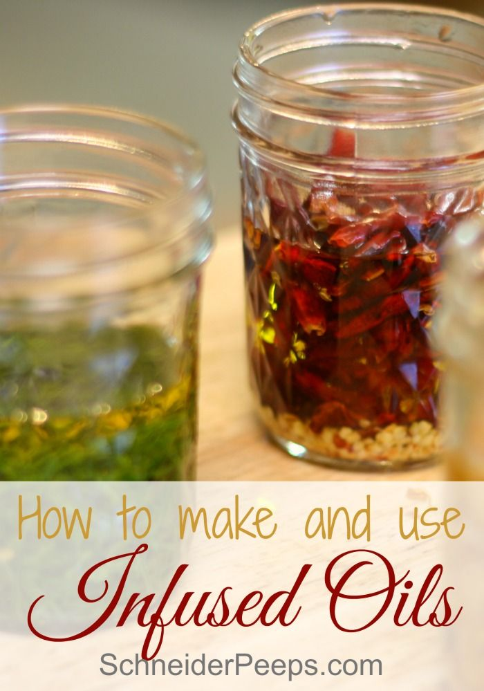 Infusing herbs into oils is a great way to add flavor, color and medicinal value…: