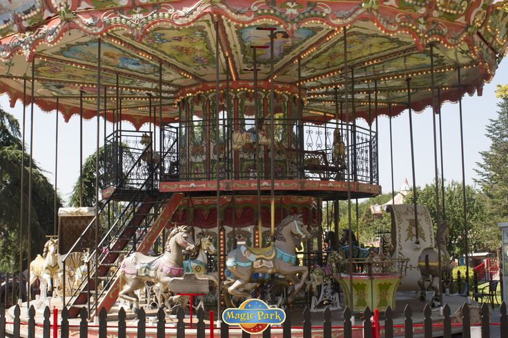 Probably the best carousel in the world…right in the heart of Magic Park!