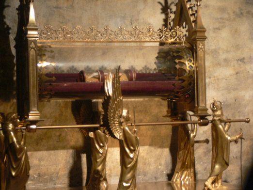 Les reliques de Marie-Madeleine dans la crypte