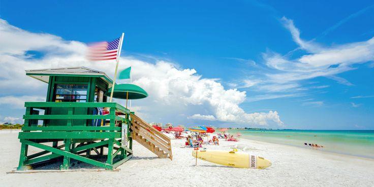 Siesta Beach, Sarasota, Florida