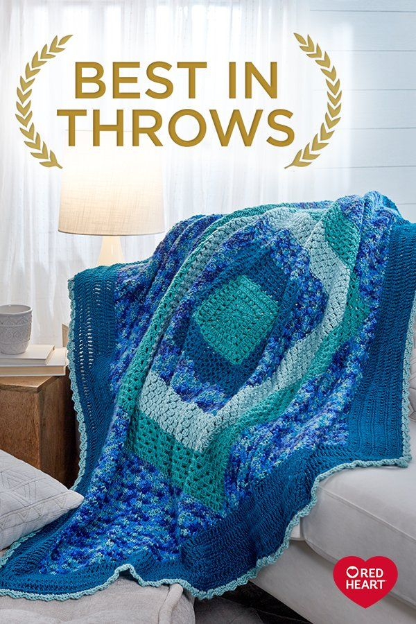 Best in Throws | Free Crochet and Knitted Throw Patterns from Red