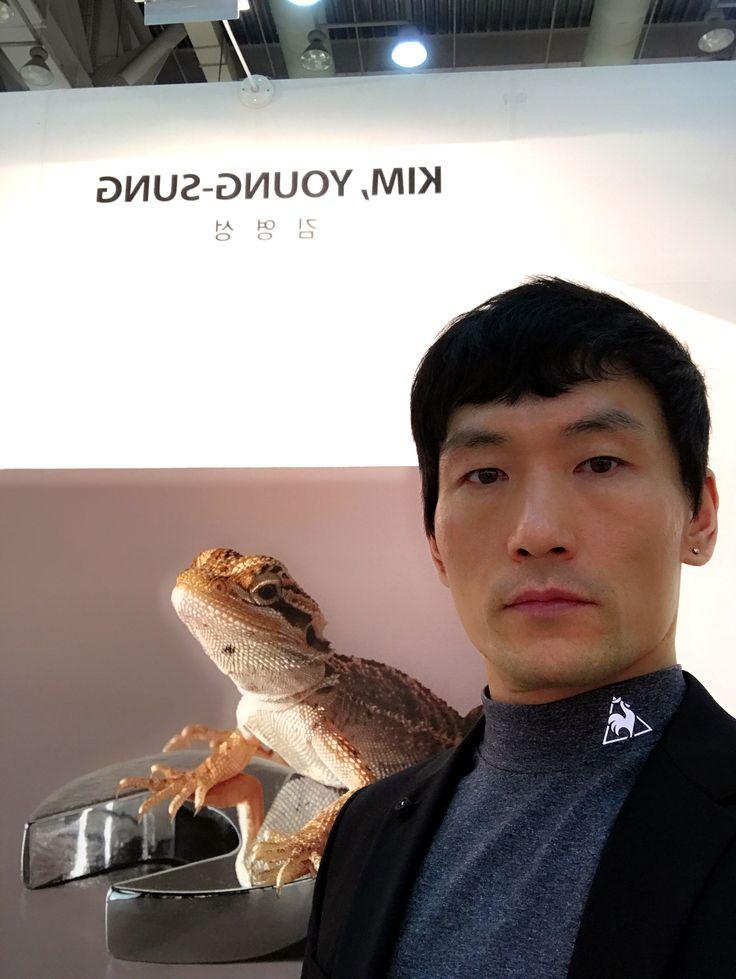 2016 BIAF #김영성 #극사실 #물고기 #개구리 #달팽이 #극사실주의 #현대미술 #ykim #YoungsungKim #Hyperrealism #hyperrealistic #oil #painting #drawing #contemporary #art #handpainted #environment #frog #snail #insect #goldfish #animal #sculpture #museum #artgallery #gecko #biaf #bexco #busan