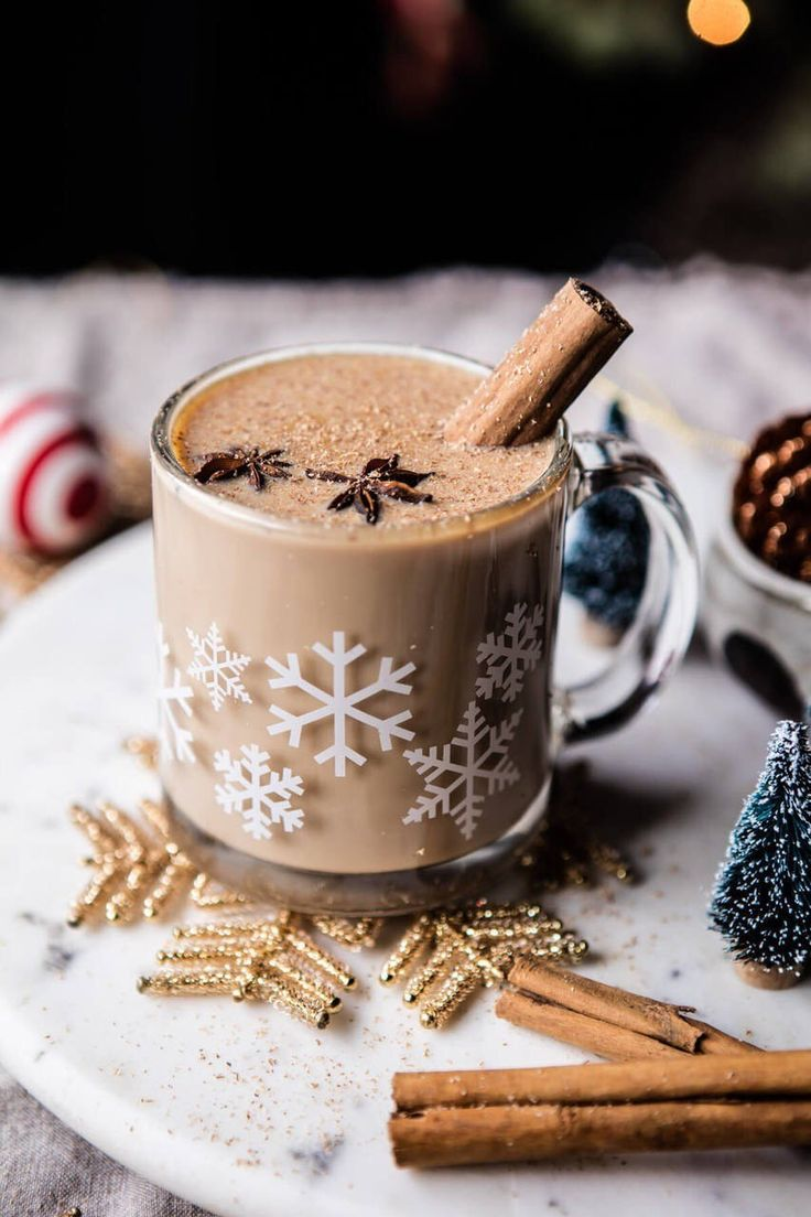 Картинка кофе новогоднего