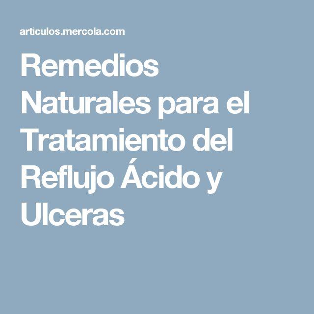 Remedios Naturales para el Tratamiento del Reflujo Ácido y Ulceras