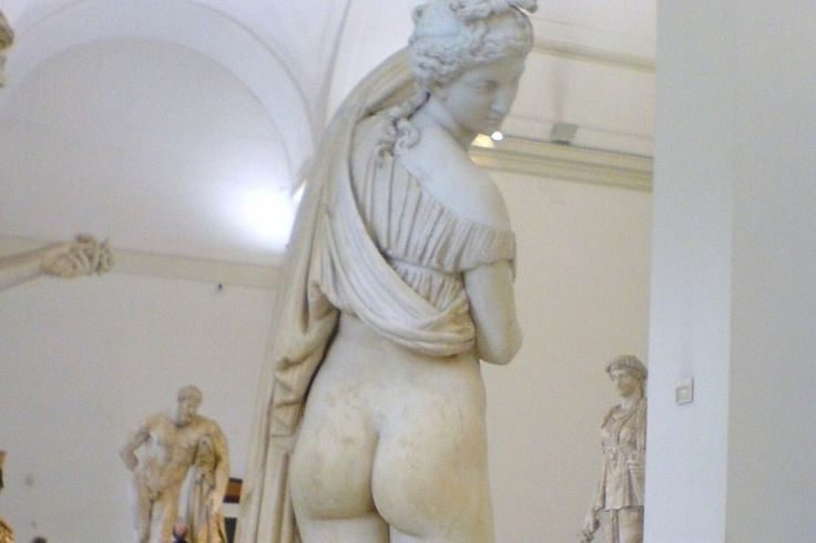 """Gabinetto Segreto,(Secret Museum), Venice, Italy, contains erotica found while digging in the ruins of Pompeii. Pictured: """"Venus Kallipygos,"""" or """"Venus with the lovely ass"""""""