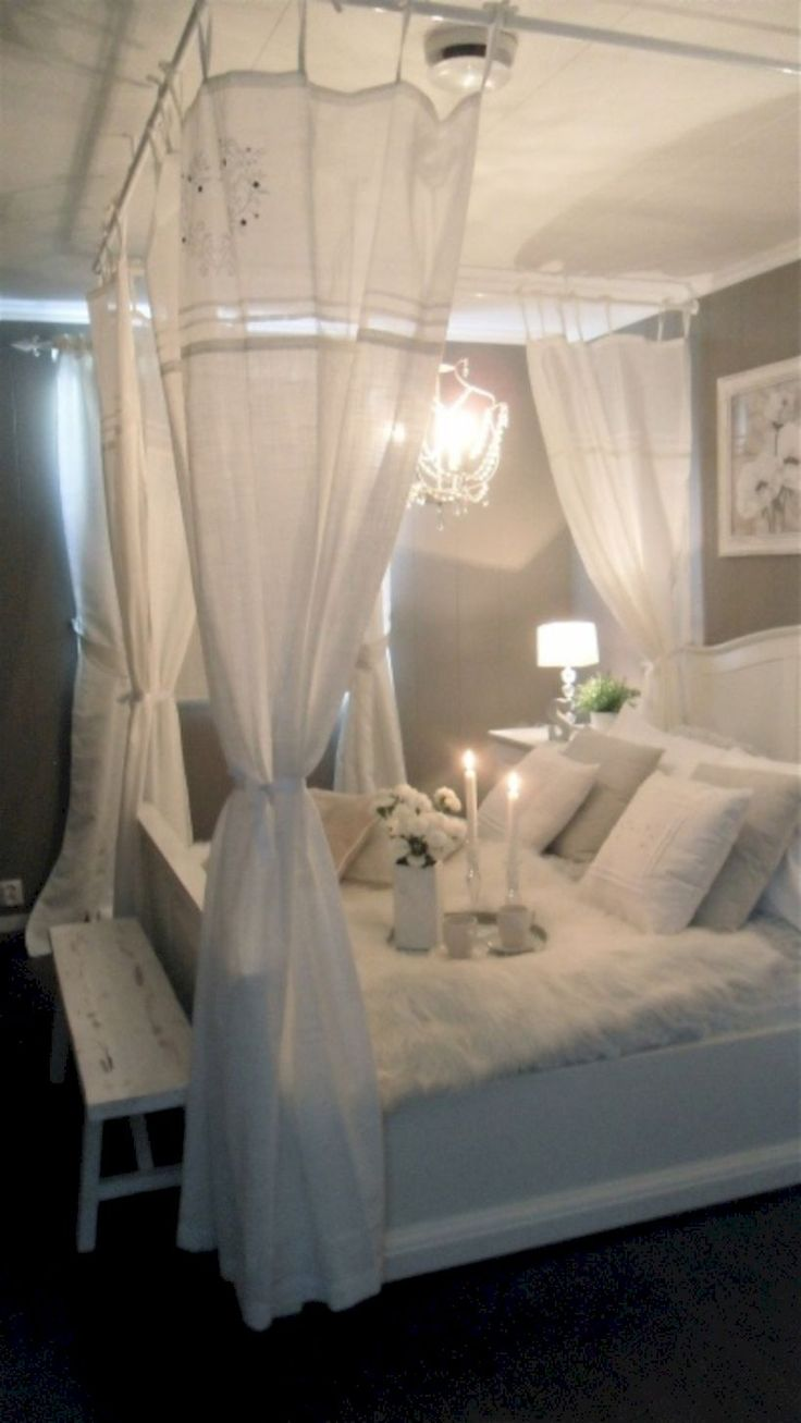 cool 43 Best DIY Bedroom Canopy for Those Renting Apartment