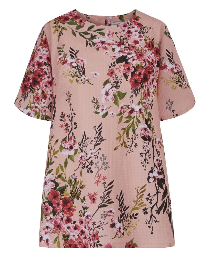 Jersey Top $22.49 With Curved Hem at JD Williams from Marisota