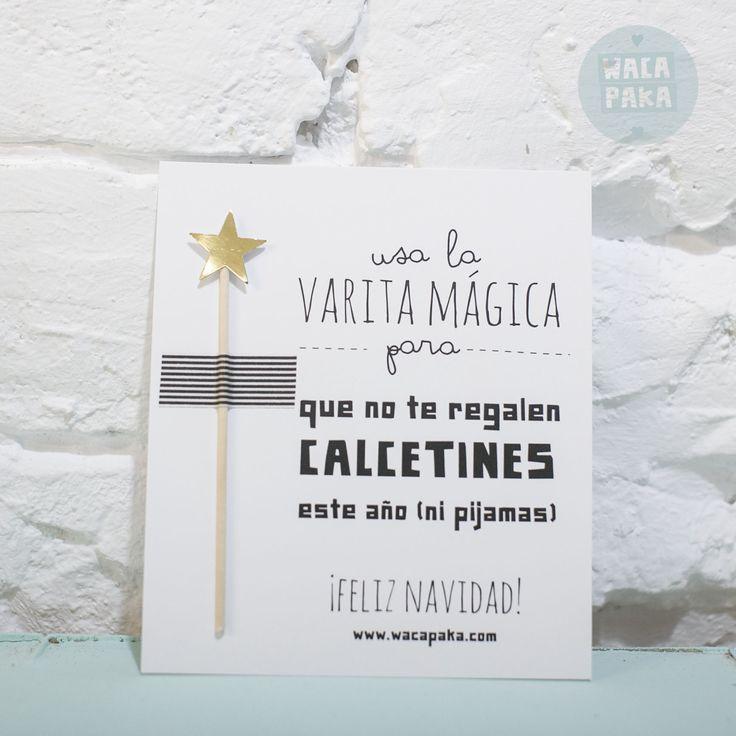 Postal varita mágica   Wacapaka shop