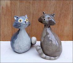 Grey Cats by Hippopottermiss.deviantart.com on @deviantART