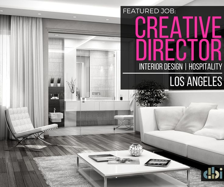 FEATURED JOB Creative Director Hospitality Design