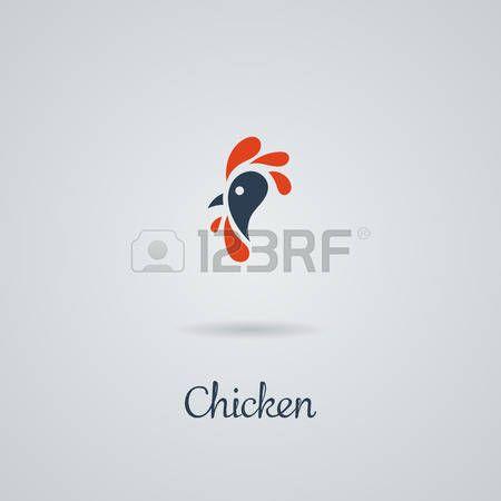 петух: Петух, петух, курица векторные иллюстрации. Дизайн логотипа. Эмблема, символ.