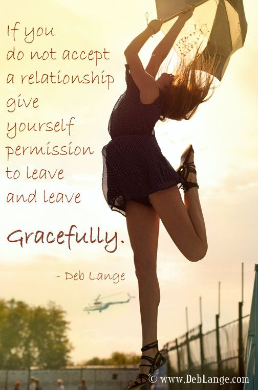 Is it a relationship you need to say no to and need to leave gracefully? Photo by african_fi from http://www.sxc.hu/photo/1402725