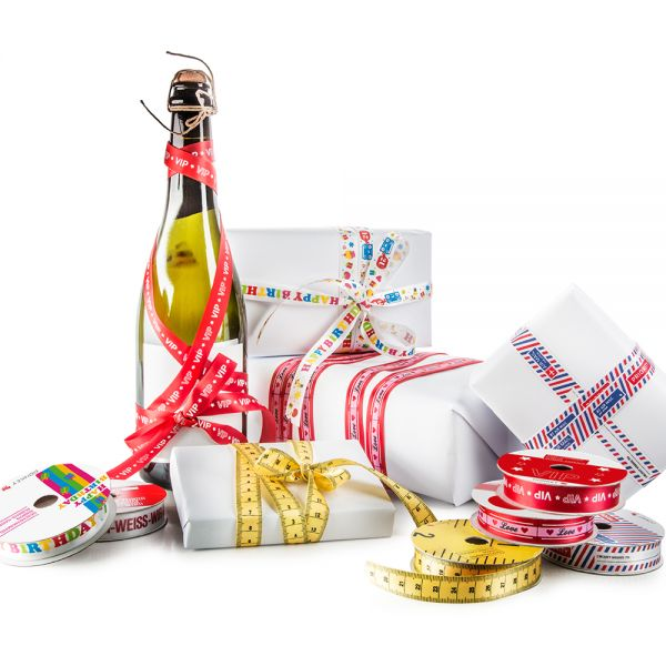 Gift & Style Ribbons- Airmail, VIP, Love