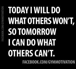 Motivation for the day!