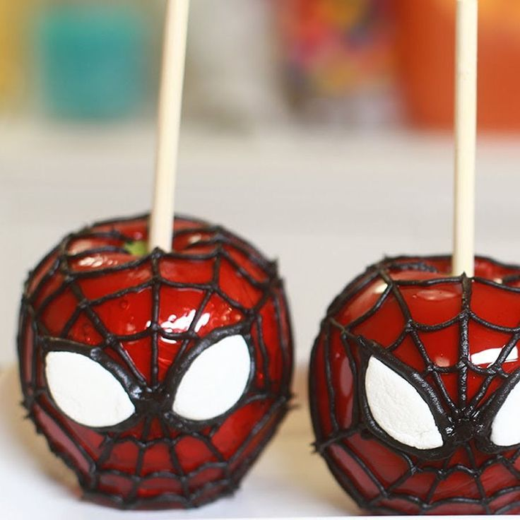 17 Best Images About Spiderman Treats On Pinterest
