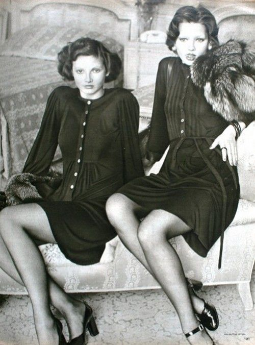 Photo By Helmut Newton For Marie Claire Paris November 1972 Vintage 70sVintage PhotosFashion
