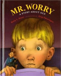 Kevin can't go to sleep at night because of the broken record playing in his head causing him anxiety about everything imaginable. A great window, glass, or mirror for students who might struggle with neverending thoughts like his. Niner, H. L., & Swearingen, G. (2014). Mr. Worry: a story about OCD . New York, NY: AV by Weigl.