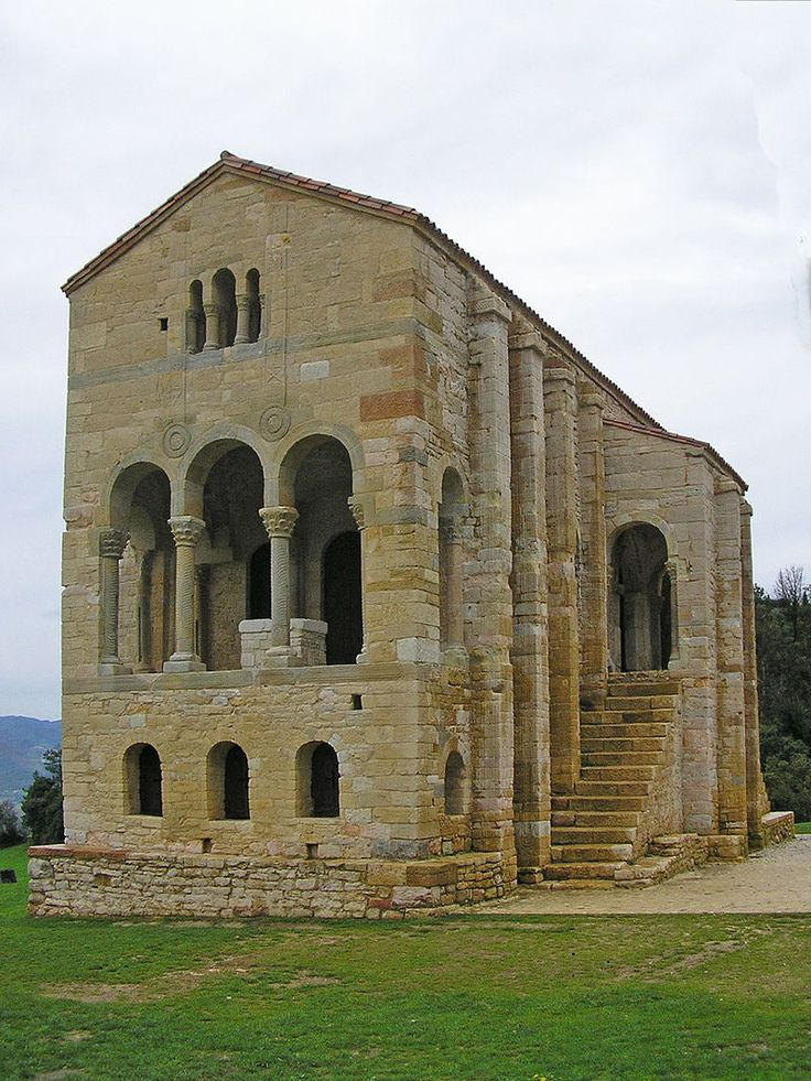Santa Maria del Naranco 2 crop - Romanesque architecture - Wikipedia, the free encyclopedia
