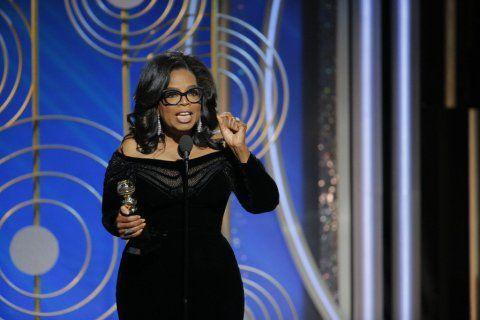 O discurso de Oprah Winfrey, 63, no Globo de Ouro, após ter sido homenageada com o troféu Cecil B. DeMille pela carreira, gerou comoção na internet e os americanos estão pedindo que a artista se candi