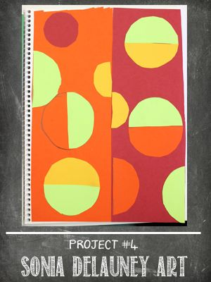 The Sketchbook Project Lesson #4 Delauney