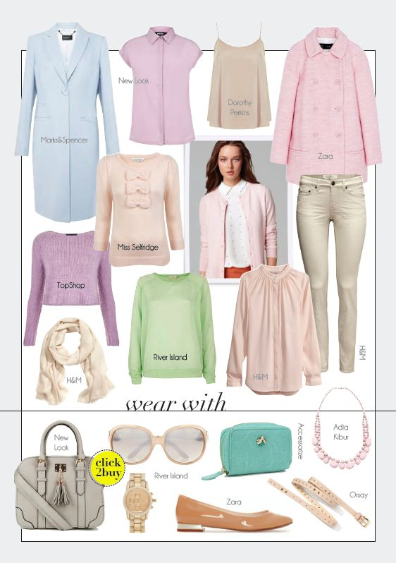 fall/winter 2013 fashion trends - pastel colors