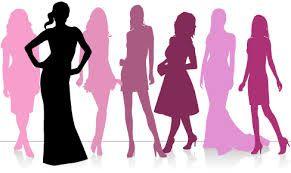 fashion silhouette png - 291×173
