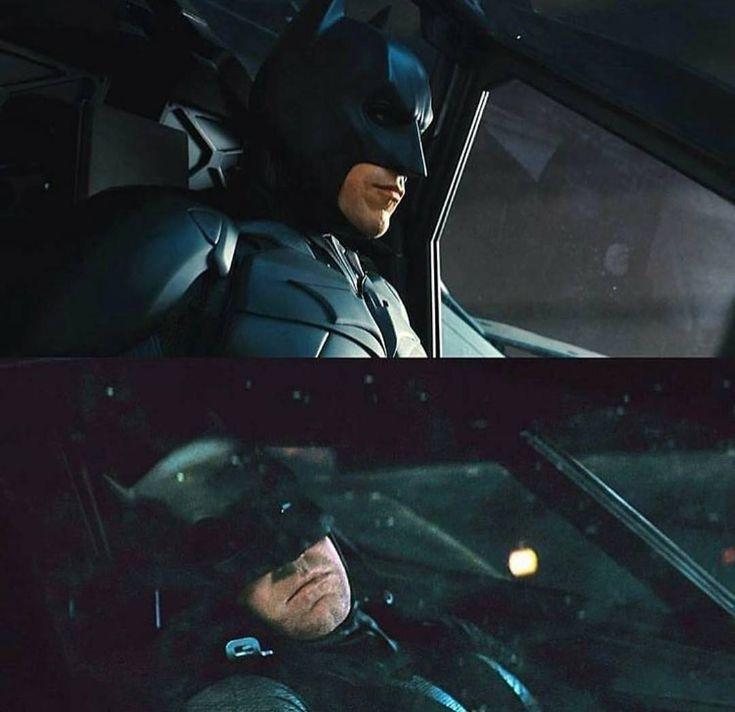 Bat-Bale & Bat-Affleck #Batman#Batman1966#Batman1966TVShow#Batman1989#BatmanReturns#BatmanAndRobin#BatmanBegins#TheDarkKnight#TheDarkKnightRises#TheDarkKnightTrilogy#BatmanArkhamKnight#BatmanvSuperman#DawnOfJustice#BatmanVSupermanDawnOfJustice#AdamWest#MichaelKeaton#GeorgeClooney#ChristianBale#BenAffleck#WarnerBros#DCComics