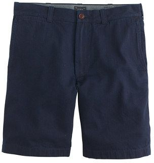 $75, J.Crew 9 Stanton Short In Japanese Indigo Chambray. Sold by J.Crew. Click for more info: https://lookastic.com/men/shop_items/223123/redirect
