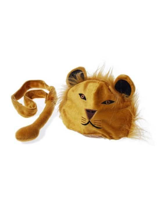 Disfraz de  León de Oskar & Ellen Oskar & Ellen disfraz de León Disfraz consistente en un gorro en forma de cabeza de un león y una cola que se ajusta con un velcro. Para disfrazarse en fiestas, la escuela, o simplemente para jugar en casa. Se ajustan a la cabeza a partir del año hasta los ocho o más. Súper fáciles de colocar, son ideales porque el niño se lo puede poner solo y convertirse en un auténtico león en sólo segundos. Características: Poliés