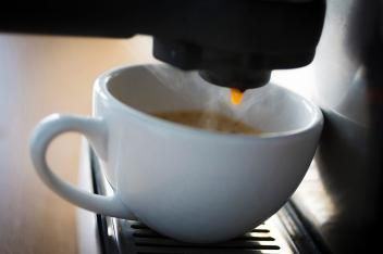 Here's how much it costs to run a coffemaker in 27 countries:Picture of The very last drop, drop of coffee hanging on a automatic coffee machine