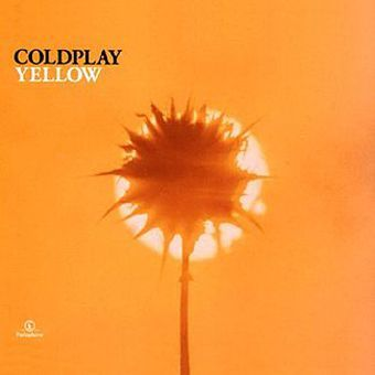 Yellow - Coldplay free piano sheet music and downloadable PDF.