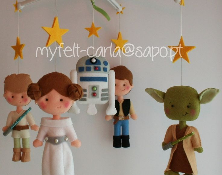Baby Cot Mobile, Star Wars Baby Mobile, Star Wars Nursery, Star Wars Bedding, Star Wars Furniture, Spaceship Mobile, Felt Dolls, Handmade BB by feltcutemobile on Etsy https://www.etsy.com/listing/268065882/baby-cot-mobile-star-wars-baby-mobile