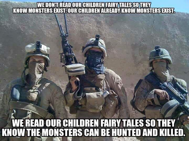 Heroes! Thank you for the sacrifice you make each day of being separated from your homes and families in order to stand watch over me and mine.