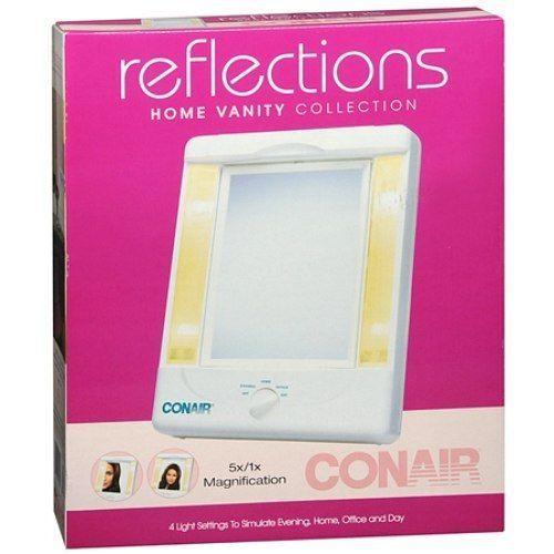 NEW!! Conair Reflections Vanity Lighted Mirror #Conair