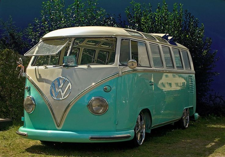 brilliant kombi vw 39 s i love pinterest beautiful aqua and turquoise. Black Bedroom Furniture Sets. Home Design Ideas