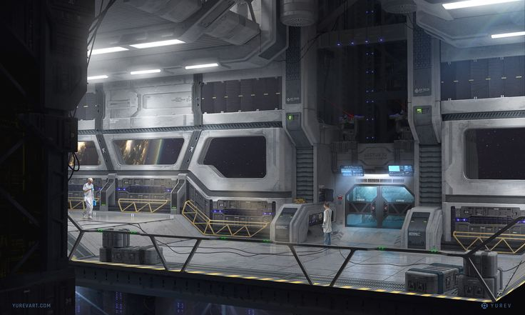ArtStation - Sector 78 - Lift, Yurev Stanislav