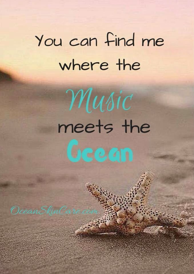 Where the music meets the ocean