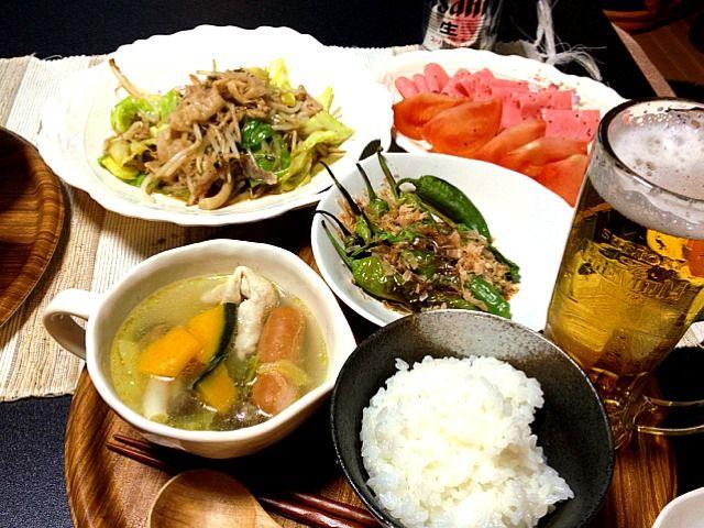 残り野菜が意外に品数多く! - 4件のもぐもぐ - 中華風野菜炒め・残り野菜ポトフ by yunanami