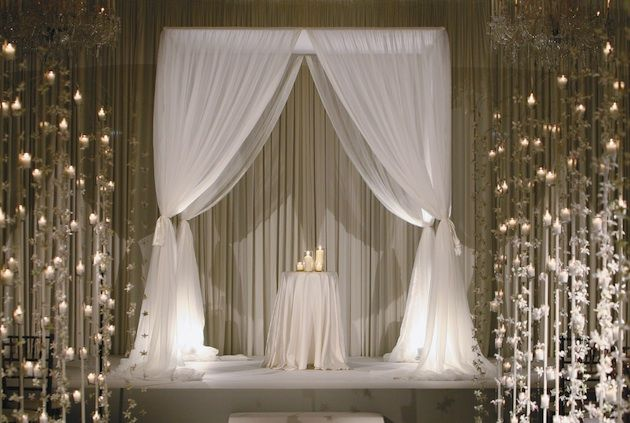 Elegant Drapery At Indoor Ceremony: Best 25+ Indoor Wedding Arches Ideas On Pinterest