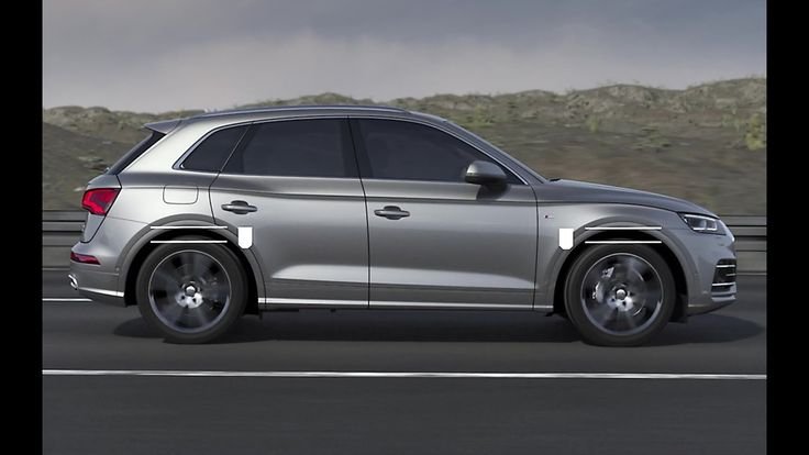 2017 Audi Q5 with adaptive air suspension