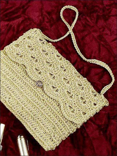 crochet purse patterns free - Google Search