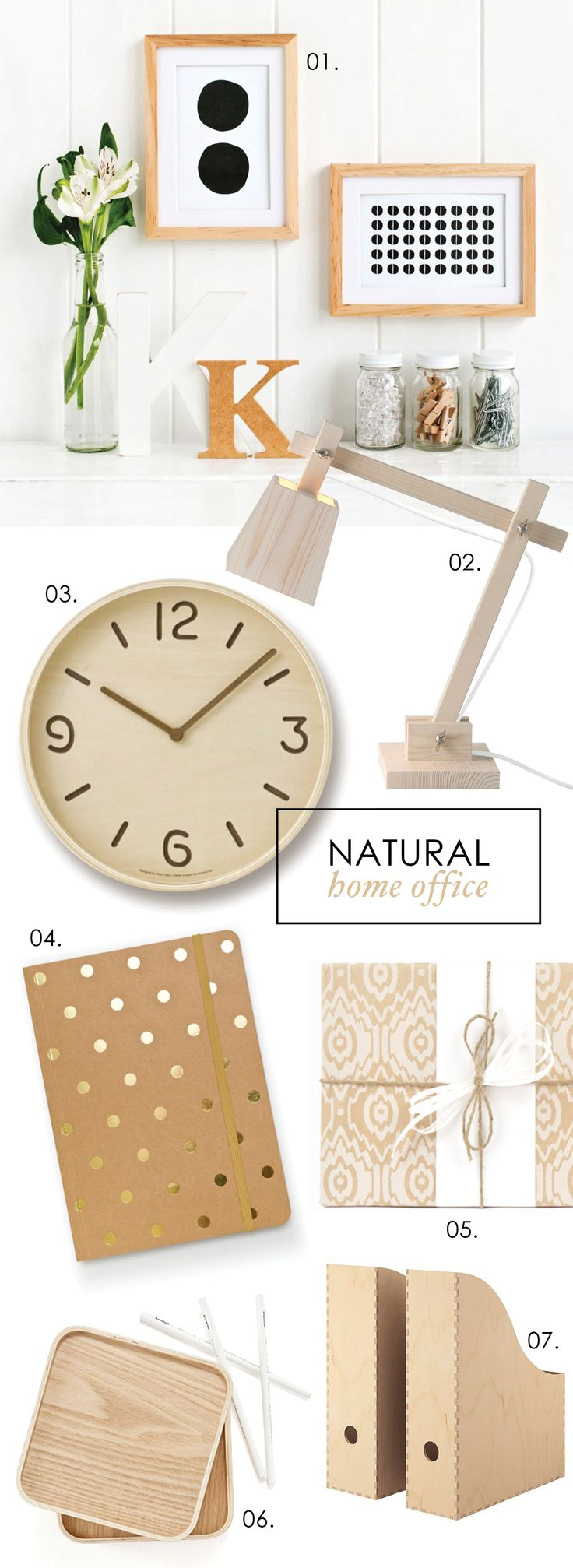 Adore Home magazine - Blog - Natural homeoffice