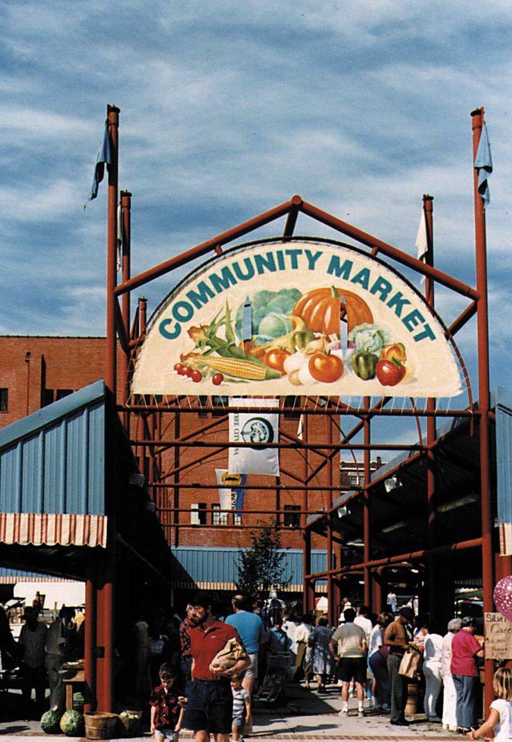 The Community Market, Downtown Lynchburg, VA