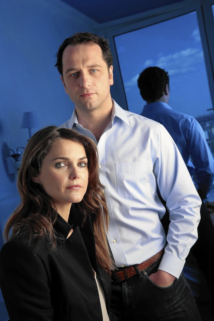'The Americans' stars Matthew Rhys, Keri Russell discuss spy appeal and this season's 'weird and uncomfortable sexual aspect.'