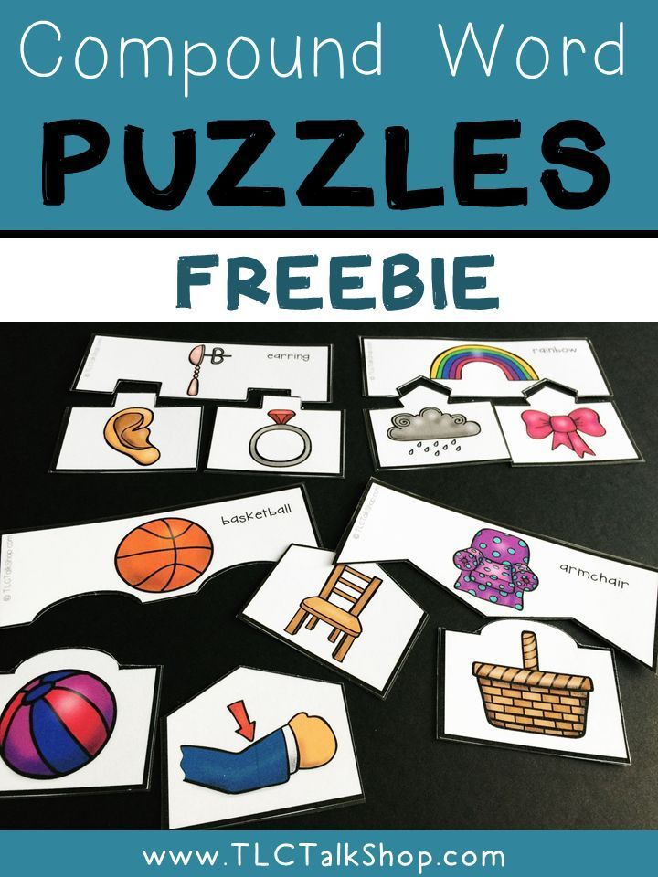 Working on compound words? Grab this freebie!