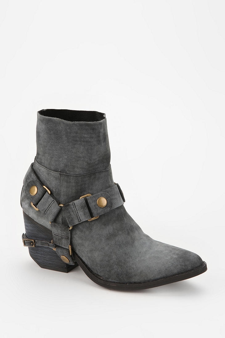 Jeffrey Campbell Roswell Moto Ankle Boot Online Only