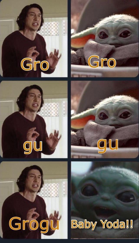 Baby Yoda Or Grogu Funny Star Wars Memes Yoda Funny Star Wars Humor