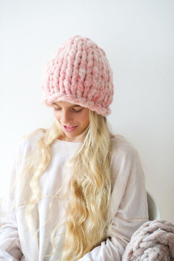 DIY Anleitung: Mütze stricken // fashion diy: how to knit a beanie via DaWanda.com