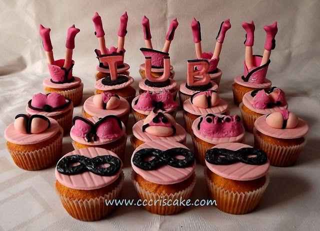 Torturi artistice: Sexy cupcakes