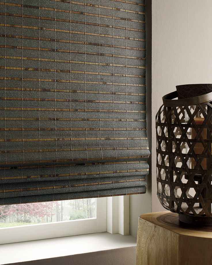 Provenance® by Hunter Douglas  Hand-woven from versatile, light-filtering reeds, grasses and woods, Provenance® Woven Wood Shades come in five styles and transform sunlight into captivating design statements.